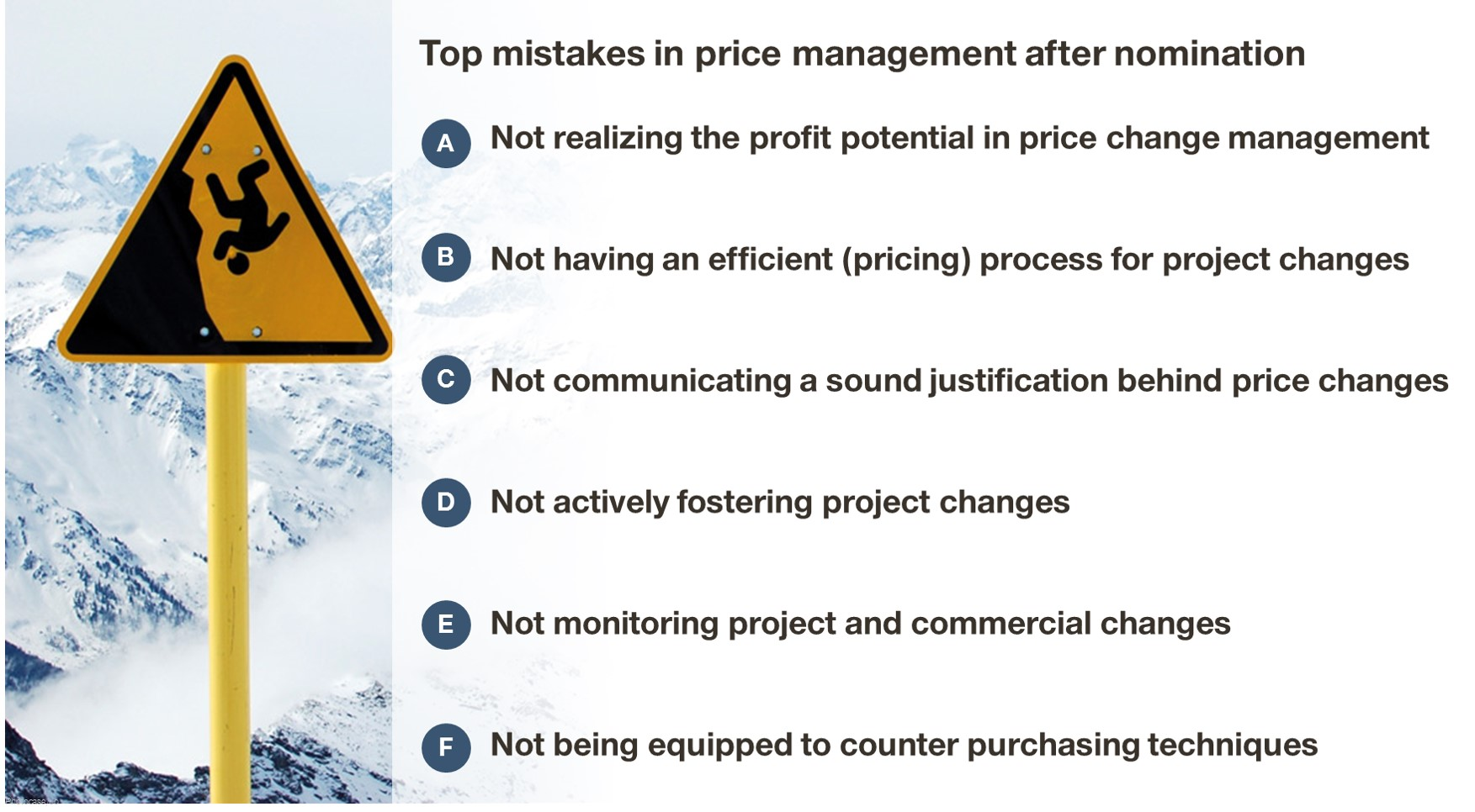 Top mistakes of automotive suppliers in project change management