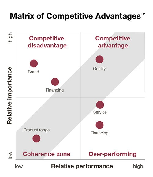 competitive advantage matrix