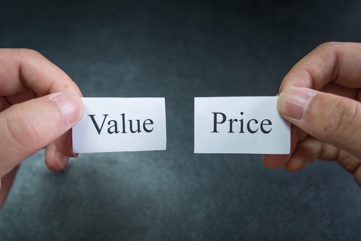 Case 2: What you pay determines what you get – let value speak for price