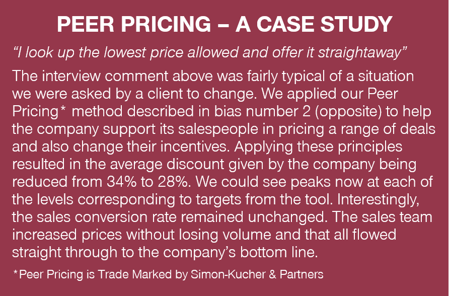 Peer Pricing