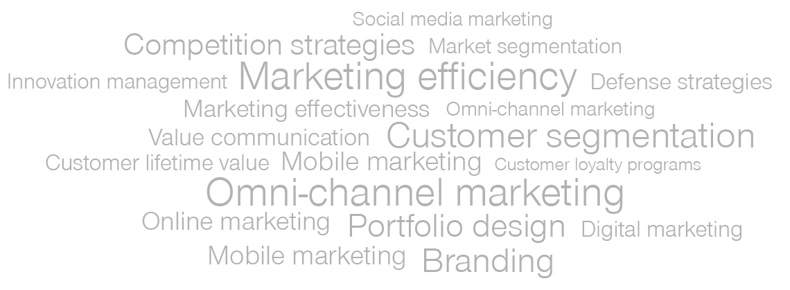 Simon-Kucher capabilities - marketing