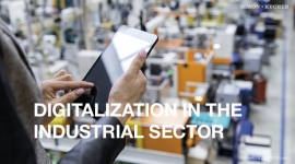 Digitalization in the industrial sector