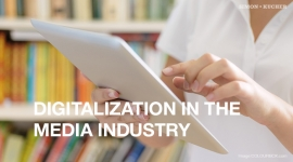 Digitalization in the media industry