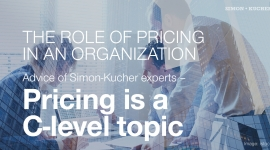 Pricing is a C-level topic