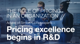 Pricing excellence begins in R&D