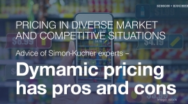 Pricing in diverse market and competetive situations: Dynamic pricing has pros and cons