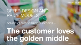 Offer Design and Price Models: The customer loves the golden middle