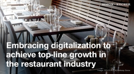 Embracing digitalization to achieve top-line growth in the restaurant industry