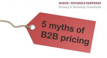 The five biggest myths of B2B pricing