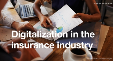 Digitalization in the insurance industry