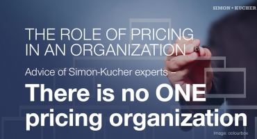 There is no one pricing organization