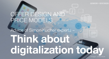 Offer Design and Price Models: Think about digitalization today