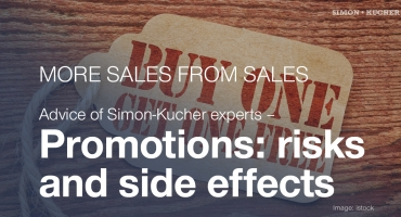 Promotions: risks and side effects