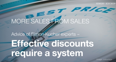 Effective discounts require a system