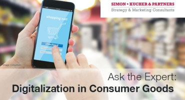 Digitalization in consumer goods