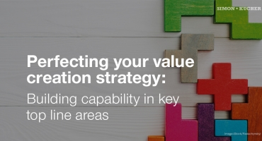 Perfecting your value creation strategy: Building capability in key top line areas
