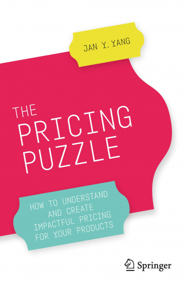 The pricing puzzle - book cover