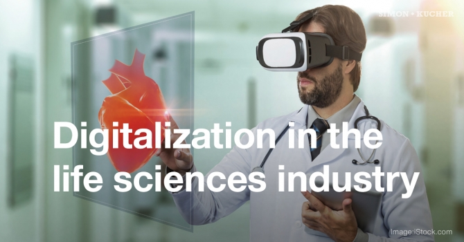 Digitalization in the life sciences industry