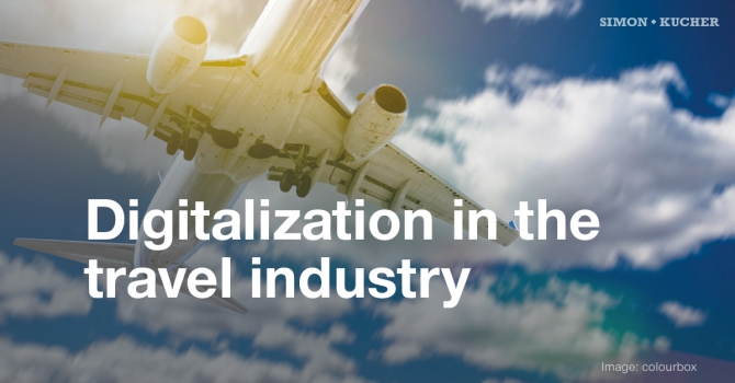 Digitalization in the travel industry