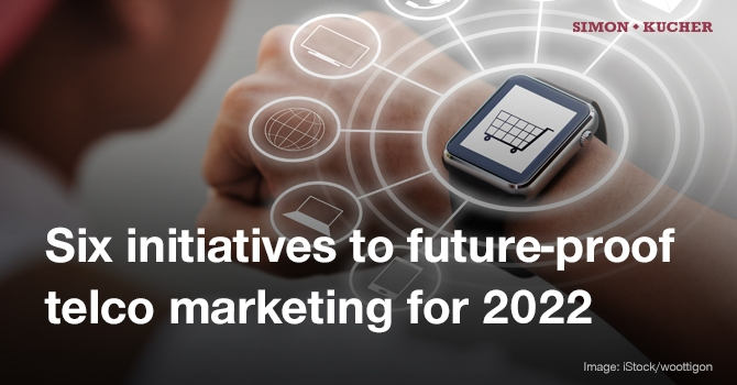 Six initiatives to future-proof telco marketing for 2022